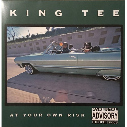 King Tee - At Your Own Risk, Colored Vinyl, LP, Reissue