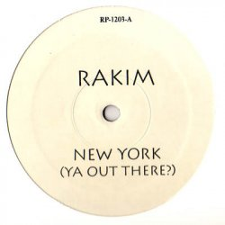 Rakim - New York (Ya Out There?), 12""