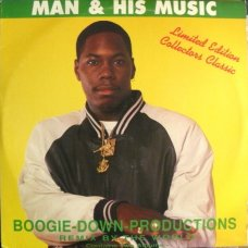 Boogie-Down-Productions - Man & His Music, 2xLP