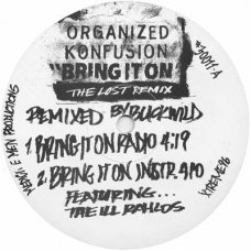 """Organized Konfusion - Bring It On (The Lost Remix), 12"""", Promo"""