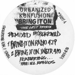 "Organized Konfusion - Bring It On (The Lost Remix), 12"", Promo"