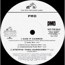 "PMD - I Saw It Cummin', Promo, 12"""