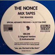 """The Nonce - Mix Tapes (The Remixes), 12"""", Promo"""