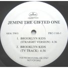 "Jemini The Gifted One - Funk Soul Sensation / Brooklyn Kids, 12"", Promo"
