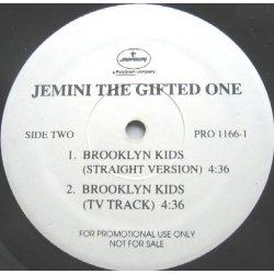 "Jemini The Gifted One - Funk Soul Sensation / Brooklyn Kids, 12"", Promo"