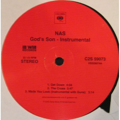 Nas - God's Son (Instrumental), 2xLP