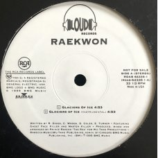 "Raekwon - Glaciers Of Ice, 12"", Promo"