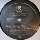 "Common Sense - Resurrection, 12"", Promo"