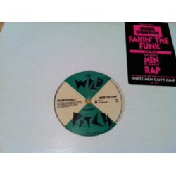 "Main Source - Fakin' The Funk, 12"", Promo"