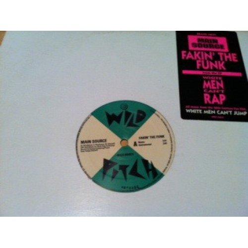"Main Source - Fakin' The Funk, 12"", Promo"