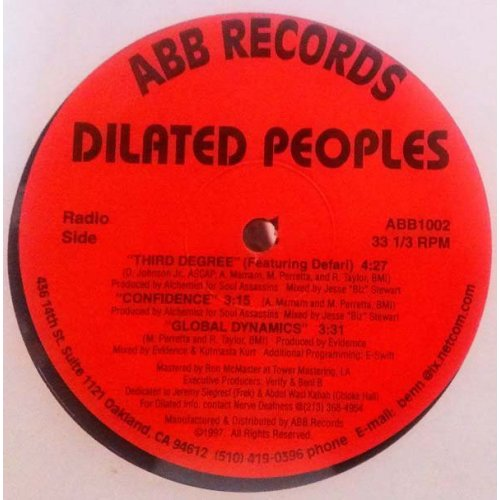 Dilated Peoples - Third Degree, 12""