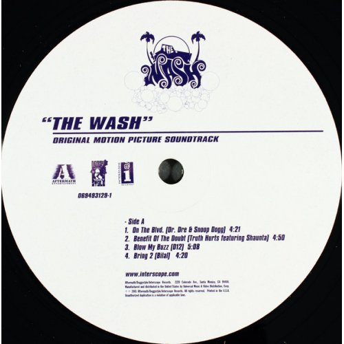 "Various - ""The Wash"" Original Motion Picture Soundtrack, 2xLP"