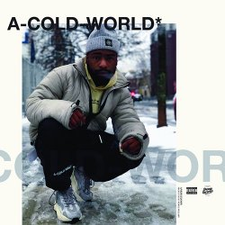 Ankhlejohn x Vinyl Villain - A-Cold-World*, LP (Black/White marbled vinyl)