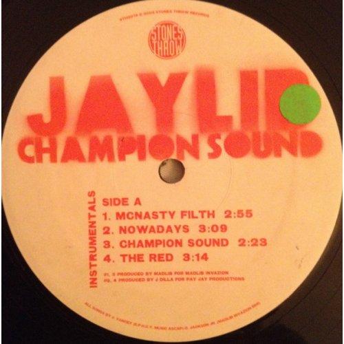 Jaylib - Champion Sound - Instrumentals, 2xLP