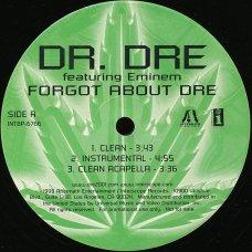 "Dr. Dre Featuring Eminem - Forgot About Dre, 12"", Promo"
