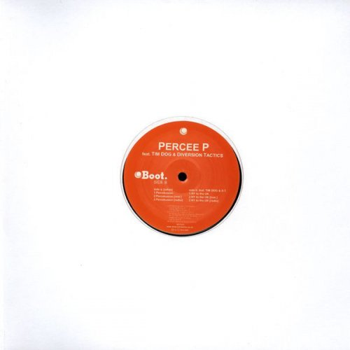 Percee P - Percekusion / NY To The UK, 12""