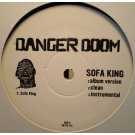 "Danger Doom - Sofa King / Mince Meat, 12"", Promo"