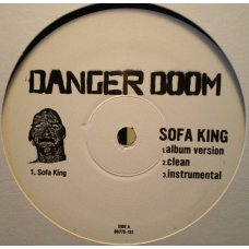 "Danger Doom - Sofa King / Mince Meat, 12"", Promo"