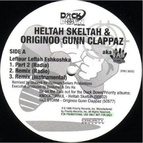 "Heltah Skeltah & Originoo Gunn Clappaz - Leflaur Leflah Eshkoshka / Lettha Brainz Blo, 12"", Promo"