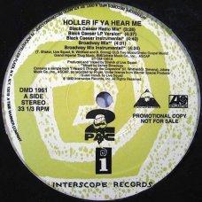 "2Pac - Holler If Ya Hear Me, 12"", Promo"
