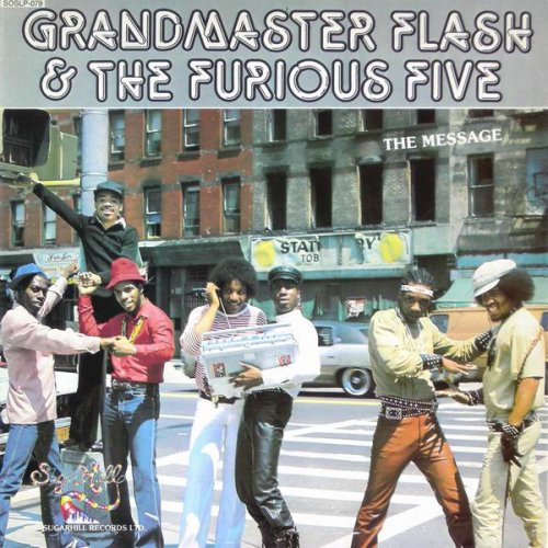 Grandmaster Flash & The Furious Five - The Message, LP
