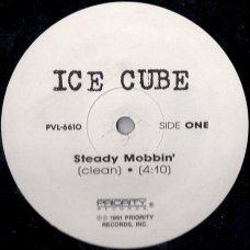 "Ice Cube - Steady Mobbin' / No Vaseline, 12"""