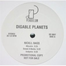 """Digable Planets - Nickel Bags / Appointment At The Fat Clinic, 12"""", Promo"""