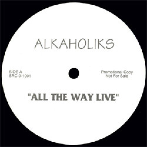 "Alkaholiks - All The Way Live, 12"", Promo"