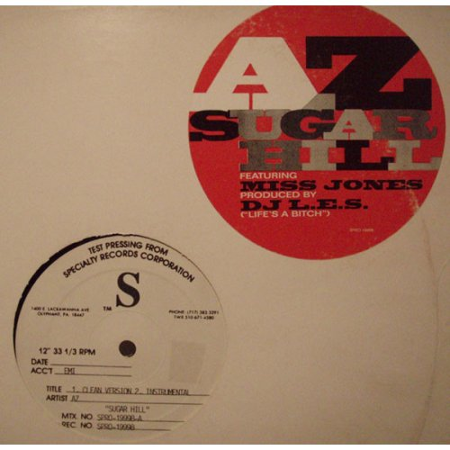 "AZ - Sugar Hill, 12"", Test Pressing"