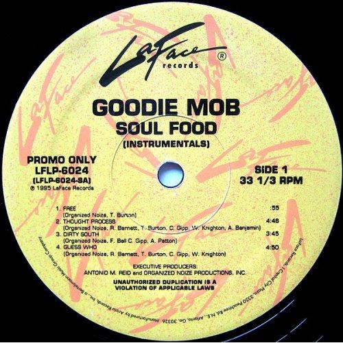 Goodie Mob - Soul Food (Instrumentals), 2xLP, Promo