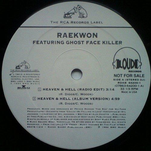 """Raekwon - Heaven & Hell, 12"""", Promo"""