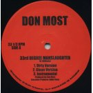Don Most - 33rd Degree Manslaughter / Forsaken, 12""