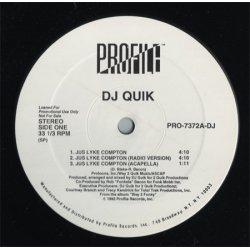 "DJ Quik - Jus Lyke Compton, 12"", Promo"