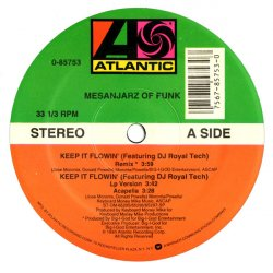 Mesanjarz Of Funk - Keep It Flowin', 12""