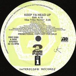 "2Pac - Keep Ya Head Up, 12"", Promo"