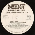 "Ultra Magnetic M.C.'s - Funky / Mentally Mad, 12"", Promo"