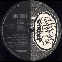 "MC Eiht - Tha Way We Run It, 12"", Promo"