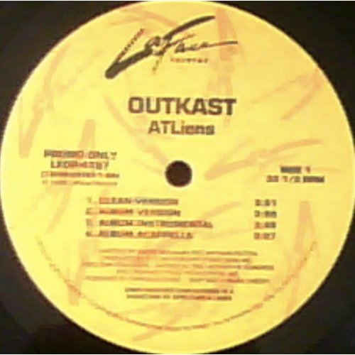 "OutKast - ATLiens / Wheelz Of Steel, 12"", Promo"