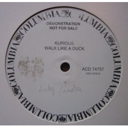 "Kurious - Walk Like A Duck, 12"", Promo"