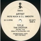 "Pete Rock & C.L. Smooth - The Creator, 12"", Promo"