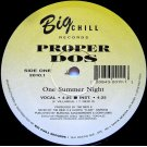 """Proper Dos - One Summer Night / Mexican Power, 12"""""""