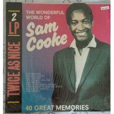 Sam Cooke - The Wonderful World Of Sam Cooke-40 Great Memories, 2xLP