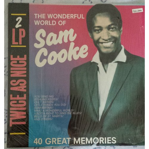 Sam Cooke - The Wonderful World Of Sam Cooke-40 Great Memories, 2xLP