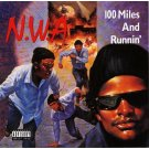 """N.W.A - 100 Miles And Runnin', 12"""", EP"""