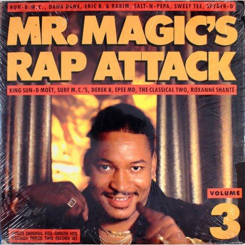 Various - Mr. Magic's Rap Attack (Volume 3), 2xLP
