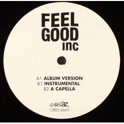 "Gorillaz - Feel Good Inc, 12"", Promo"