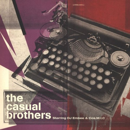 """The Casual Brothers Starring DJ Embee & Cos.M.I.C - The Casual Brothers, 12"""", EP"""
