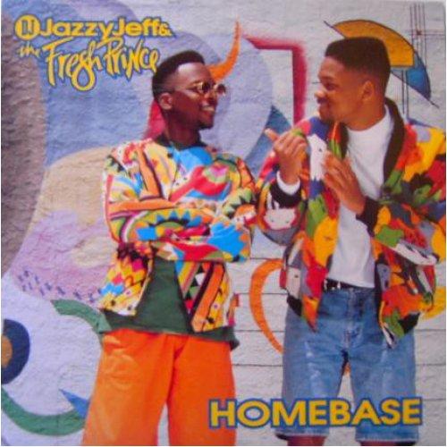 DJ Jazzy Jeff & The Fresh Prince - Homebase, LP