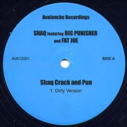 "Shaq Featuring Big Punisher & Fat Joe - Shaq Crack And Pun, 12"""
