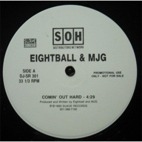 "Eightball & MJG - Comin' Out Hard, 12"", Promo"
